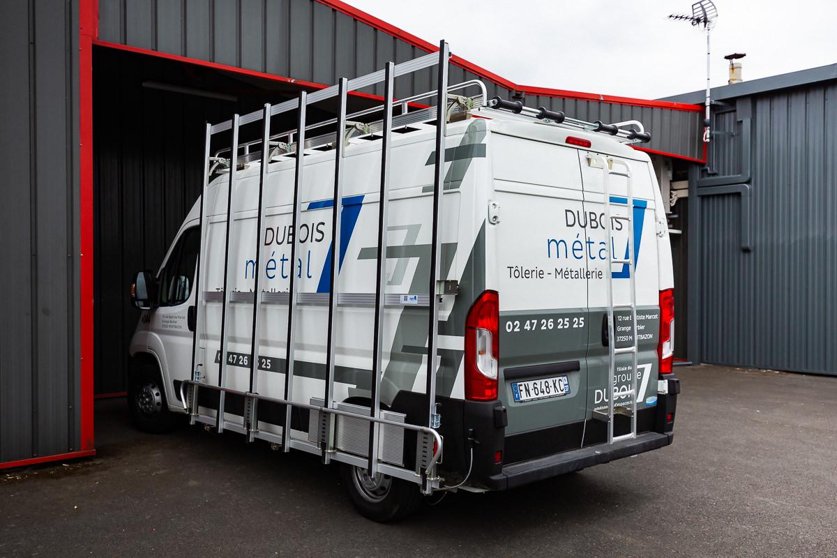 Camion porte-verre Dubois Métal